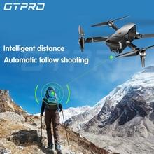 OTPRO Дрон Квадрокоптер с 1080P Wifi gps 5MP камера бесщеточный мотор от вертолета Retorno авто RC дроны 4k мини Дрон vs SG906