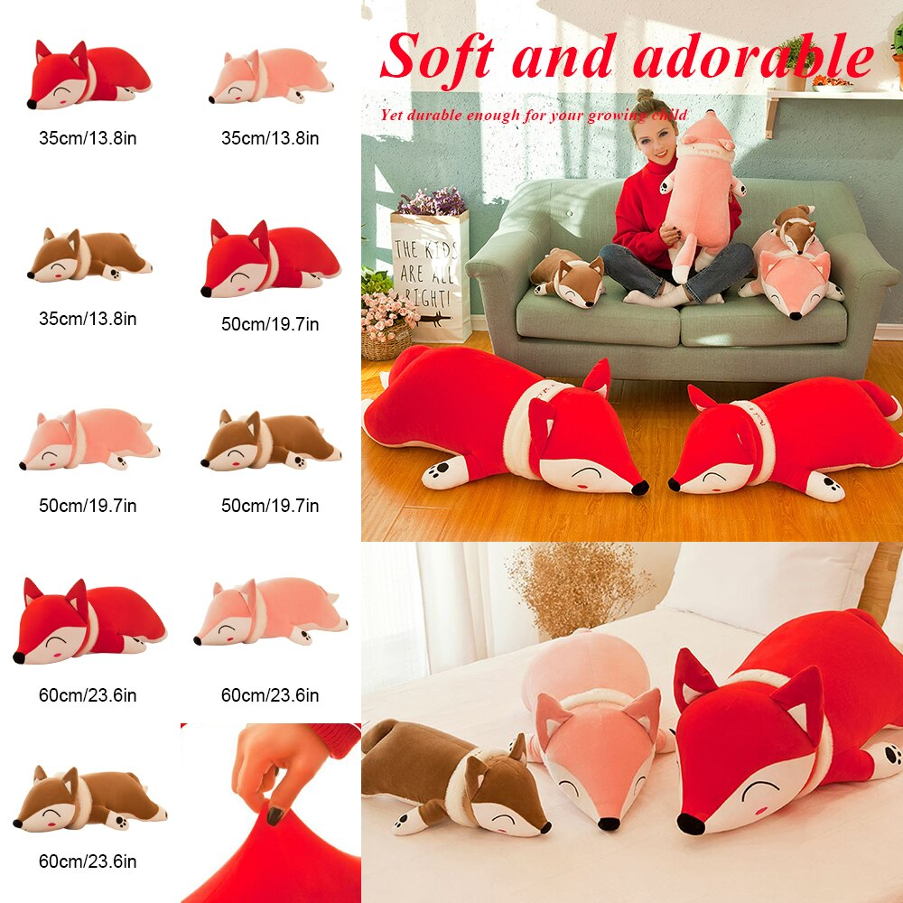 35/50/60cm Cute Dolls Stuffed Animal Plush Toys for Girls Boys Plush Pillow Stuffed Cartoon Soft Toy Doll Children Birthday Gift