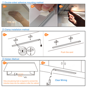 2 Teile/los USB LED Unter Schrank Küche Lichter 5V 3 Farben Hand Sweep Sensor Lampe LED Schrank Licht Schlafzimmer kleiderschrank Beleuchtung