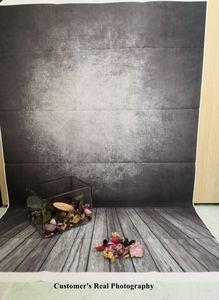 Image 4 - Laeacco Gradient Màu Xi Măng Tường Gạch Sàn Gỗ Chụp Ảnh Phông Nền Chụp Ảnh Nền Grunge Chân Dung Photozone