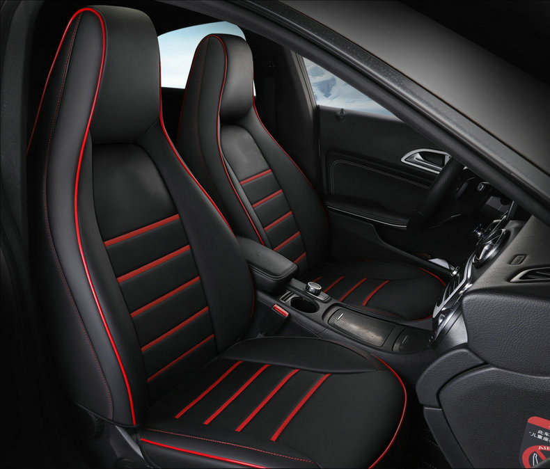 Custom car seat cover leather for Porsche Macan Cayenne boxster Panamera Dodge Challenger Avenger Caliber car accessories