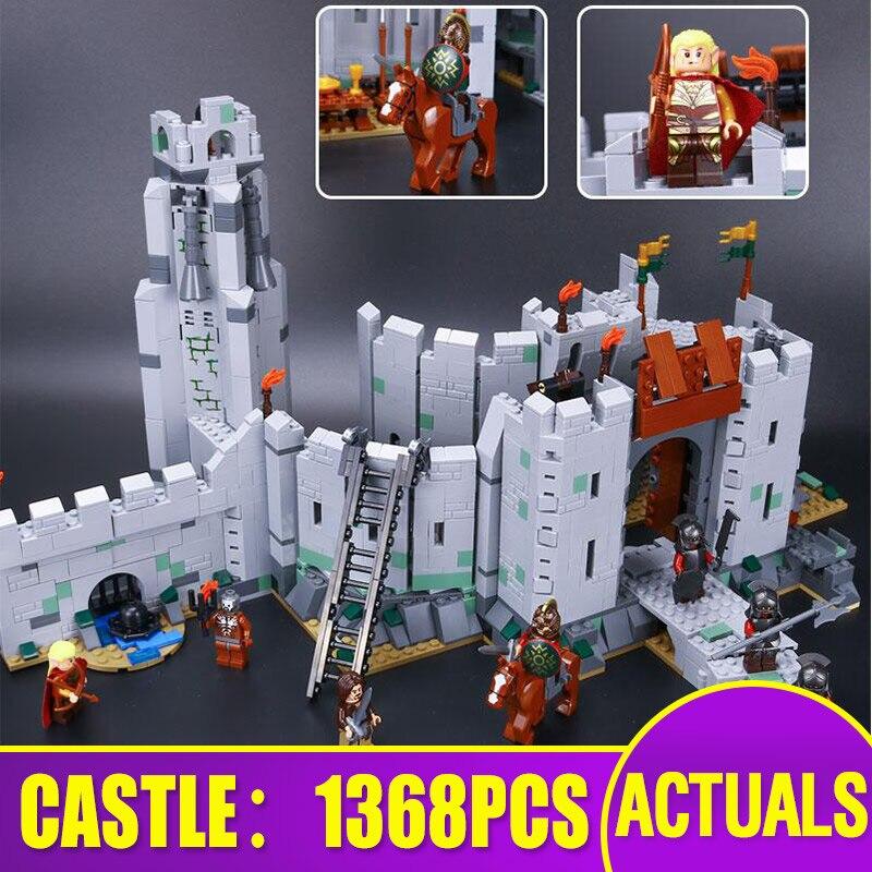 16013 filme brinquedos compatíveis com 9474 a batalha de helm conjunto profundo montagem brinquedos blocos de construção tijolos crianças presentes natal