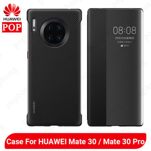 Image 1 - HUAWEI Mate 30 Pro Case Original Offical High Quality Protector Silicone Soft HUAWEI Mate 30 Case Back Cover