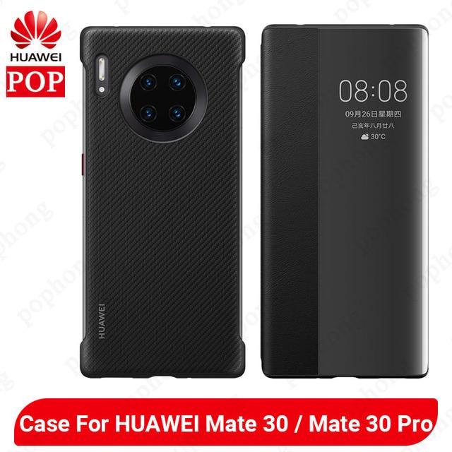 HUAWEI Mate 30 Pro Case oryginalny oficjalny wysokiej jakości ochraniacz silikonowy miękki HUAWEI Mate 30 skrzynki tylnej okładce