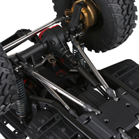 INJORA Metal Heavy-Duty Drive Shaft for 1/10 RC Crawler Car Axial SCX10 90046 AXI03007 TRAXXAS TRX-4 TRX-6 Redcat Gen8 D90 TF2 5