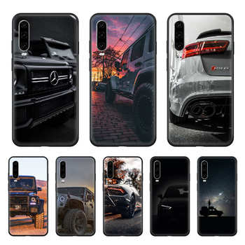car JP Cool Phone case For Huawei P 30 10 20 40 Lite Smart Z Pro 2019 black funda pretty cell cover trend waterproof 3D cover image
