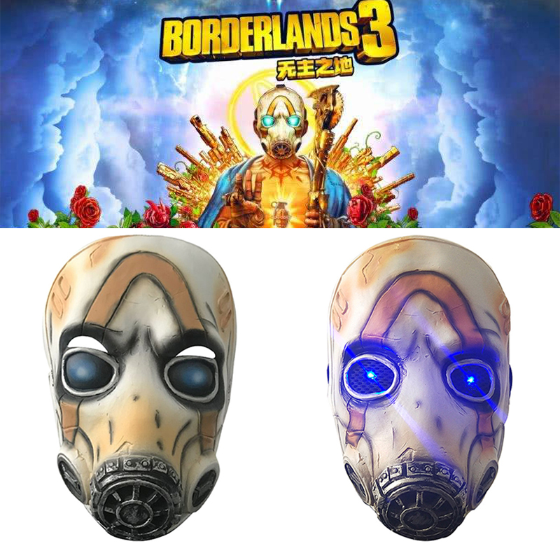 <font><b>Borderlands</b></font> 3 Mask Cosplay Prop Latex Masks Halloween Party image