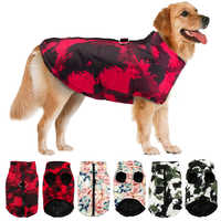 Inverno roupas para cães de estimação bulldog francês pet quente casaco jaqueta à prova dwaterproof água roupas para cães colete para pequeno médio grandes cães