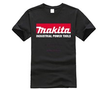 Makita Power Tools T-Shirt Sz S - 5XL Man Fashion Round Collar T Shirt top tee T shirt Brand 2019 Male Short Sleeve top tee(China)