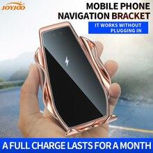 Suporte automotivo para celular, suporte móvel com fio magnético retrátil automático por toque, suporte para gps