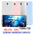 4G LTE 5,0 inch Großen Bildschirm 7A Smartphones Globale Version 2G RAM + 16G ROM Quad Core 5MP + 13MP NFC Android Handys Celuares
