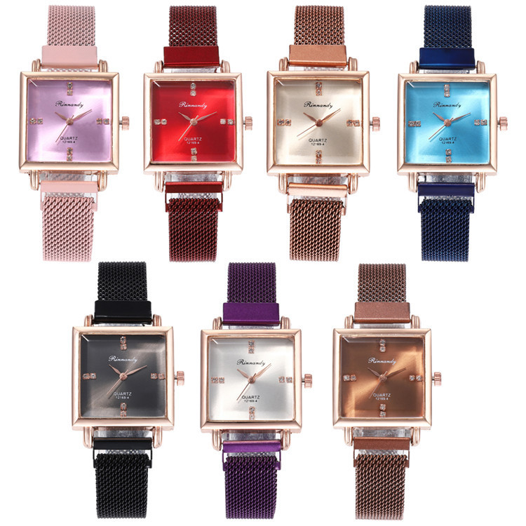 With Series Bracelet Watch Beautifully Minimalist Fashion Diamond-encrusted Bracelet Watch Joker Fashion Watches