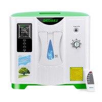 Generador de oxígeno 2L-9L, concentrador de oxígeno, purificador de aire, 110V, 220V, versión en inglés, DDT-2A, Envío Gratis