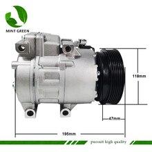 HS15 AC Kompressor Für Hyundai Sonata 2,4 L l4 für Kia Optima Magentis 2,4 L 2,7 L 977012B250 97701 2B251 97701 2B300 977012B350