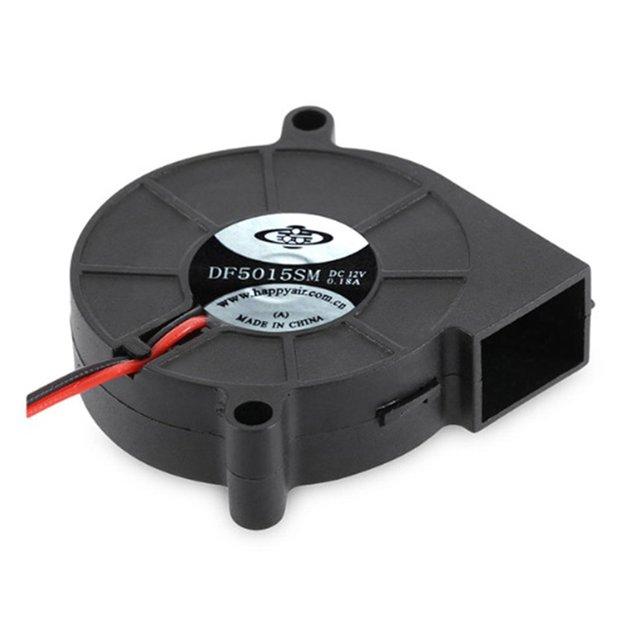 Anet A8 A6 5015 dmuchawa powietrza 12 V 24 V ultra-stille Olie Lager ongeveer 7500 RPM Turbo Kleine wentylator do drukarki 3D