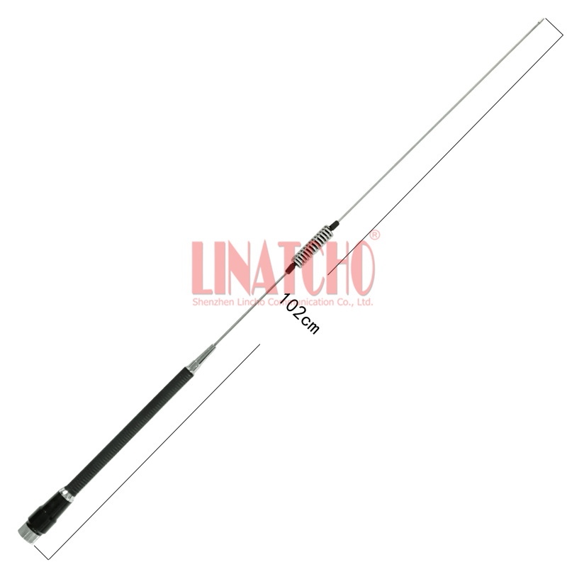 New Flexible And Anti-shake PL259 Male HF 27MHz Car Antenna For Cb Radio