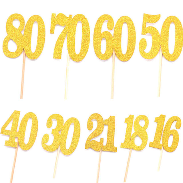 Cupcake's Number Topper