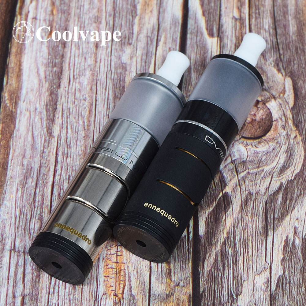 Coolvape Ennequadro Mod Dvarw Mtl RTA 2ML RTA 18350 Battery Vape 22mm Fit Kayfun Lite Rta Bastard RTA Vs Hellfire V6 Kit