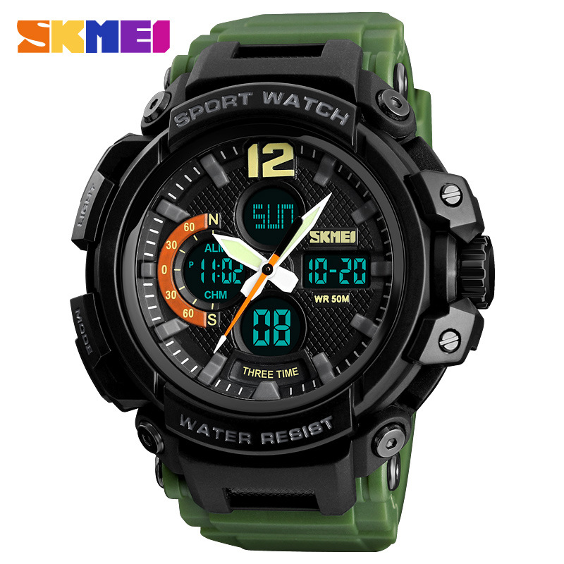 <font><b>SKMEI</b></font> Sport Watches 2020 Men Watch 50M Waterproof Digital Fashion Watch Male Clock Relogio Masculino erkek kol saati Man Watch image