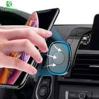 Floveme magnético suporte do telefone carro para o iphone 11 xs max samsung dobrável painel do carro suporte do telefone móvel suporte celular