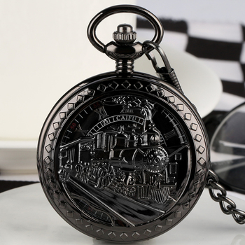 цена на Antique Hollow-out Dial  Pocket Watch for Men Women Necklace Pendant Chain Clock Mechanical Pendant Watches relogio Montres