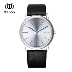 WUSSA simple quartz watch for men