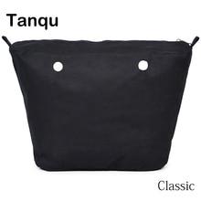 TANQU yeni İç astar fermuar cep klasik boyutu için Obag süper gelişmiş eklemek iç su geçirmez kaplama O çanta