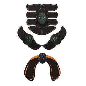 Image 5 - EMS جهاز تدريب العضلات البطن محفز ABS الكهربائي اللياقة البدنية مدلك البطن فقدان الوزن التخسيس معدات رياضية للمنزل