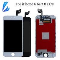 AAA Pantalla LCD para iPhone 8 7 6s 6 Pantalla táctil LCD Pantalla reemplazo parte para iPhone 6s 7g 8g 6g Pantalla digitalizador Asamblea