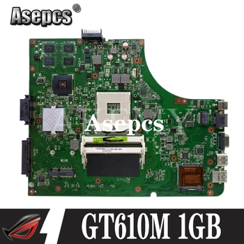 For ASUS K53SD K53S A53S Laptop motherboard Mainboard K53SD Motherboard test 100% OK Motherboard GT610M 1GB HM65