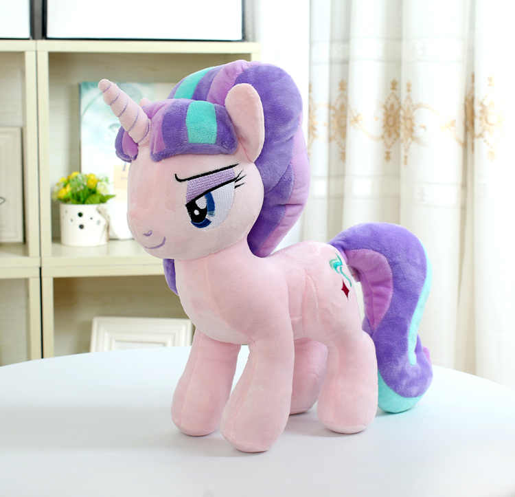 "Unicorn Starlight Glimmer Peluche Cavallo Giocattolo Action Figure 12 ""30 CENTIMETRI"