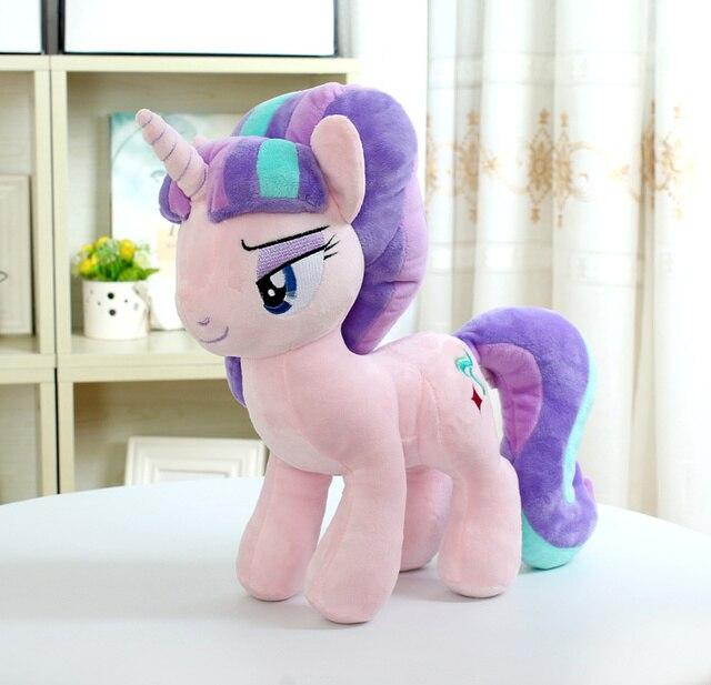 "Unicorn Starlight Glimmer  Plush Horse Action Toy Figures 12"" 30 CM"