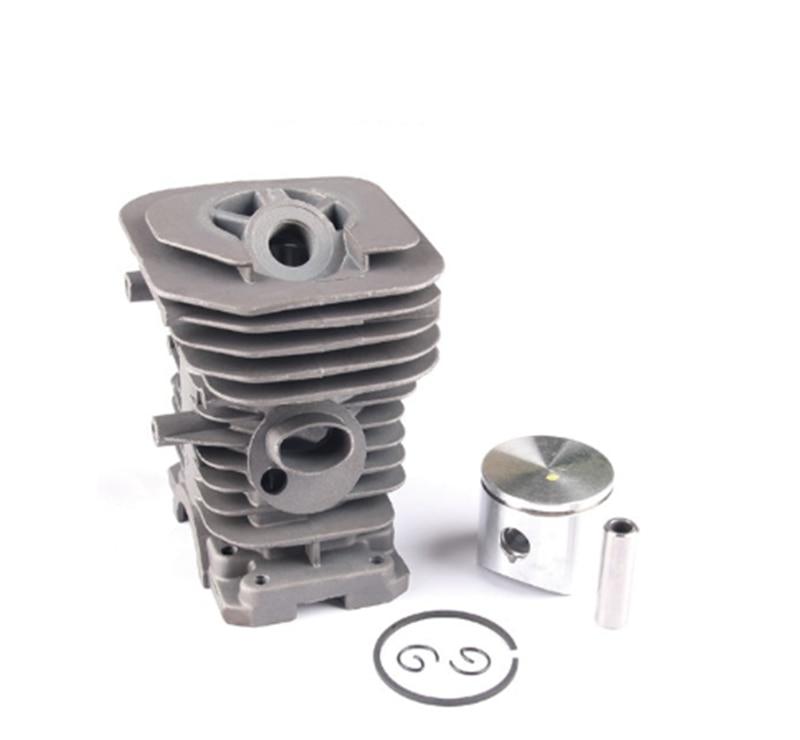 38MM NIKASIL Cylinder Piston Rings Kit For HUSQVARNA 142 141 137 136 Gasoline Chainsaw Engine Parts 530 06 99 40