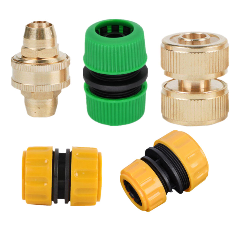 ABS Hose Connector Watering Replacement Kit 1//2inch Garden Accessories
