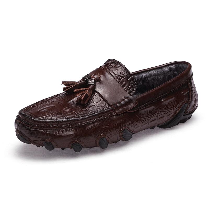 New Men's Casual Shoes Men Moccasins Fashion Boat Shoes Male 2019 Slip On  Classic Men's Shoes