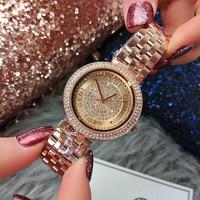 Luxury Starry Sky Women Watches Elagant Rhinestone Stainless Steel Waterproof Women Wristwatch Reloj Mujer Relogio Feminino