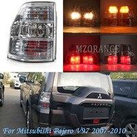 MZORANGE Rear Tail Light For Mitsubishi Pajero V93 V97 2007 2010 Tail Brake Light Rear Turn Signal Lamp car accessories