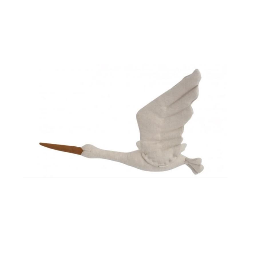 Newborn Baby Photography Props Wall Hanging Swan Toy Room Decor Infant Studio Shooting Decoration For Boy Girl Photo Accessories image