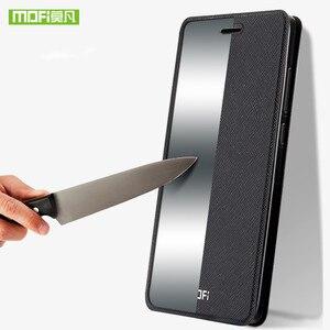 Image 2 - Mofi עבור Huawei honor 10 מקרה כיסוי כבוד V10 מקרה עור סיליקון TPU חזרה דק מתכת כיסוי מקרה עבור Huawei כבוד הערה 10 פגז