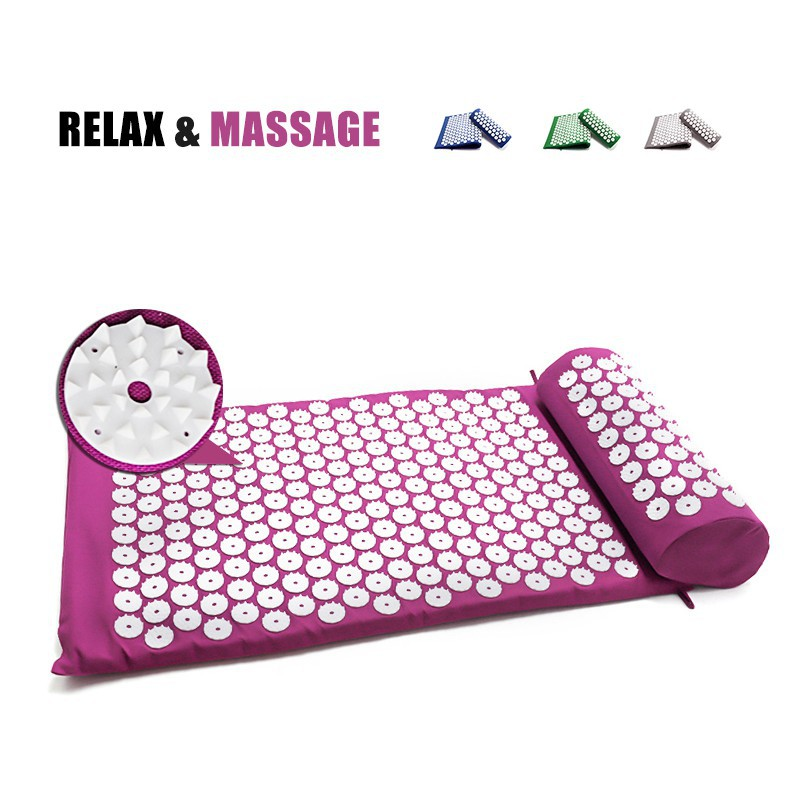 Acupuncture Massage Mat Shiatsu Pad Yoga
