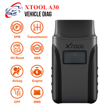 XTOOL Anyscan A30 Full System OBD2 Scanner Code Reader EPB Transmission ABS DPF EPB Oil Reset Car Diagnostic Tool Free Update