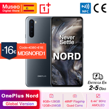 "Global Version OnePlus Nord 5G Smartphone Snapdragon 765G 8GB 128GB 6.44"" 90Hz AMOLED Screen 48MP Quad Rear Cams 30W NFC"
