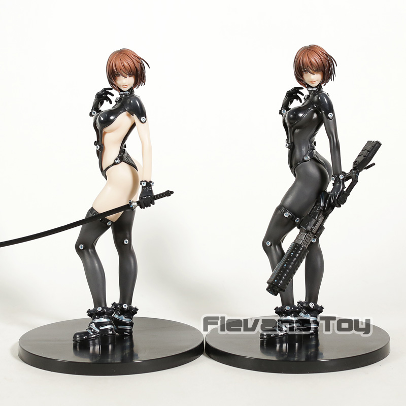 Vogue Anzu Yamasaki <font><b>X</b></font> Sword Ver. <font><b>Sexy</b></font> Battle Suit Union Creative Comic Anime Film Gantz O PVC Figure Toy image