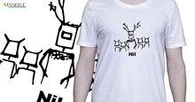 Monty Python tshirt knights who say Ni the holy grail  Cartoon t shirt men Unisex New Fashion free shipping