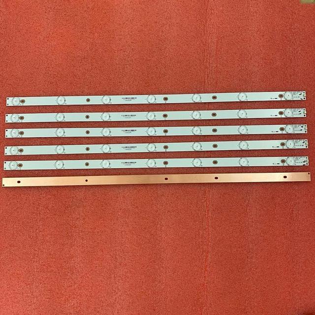 15 Pz/lotto Striscia di Retroilluminazione A LED Per 32PFT4100 32PHH4100 32PFT5500 LG 32LH500D 32PFH4309 32PHT4319 GJ 2K15 D2P5 315 GEMINI 315 D307 V1 LBM320P0701 FC 2 LB32067 V0