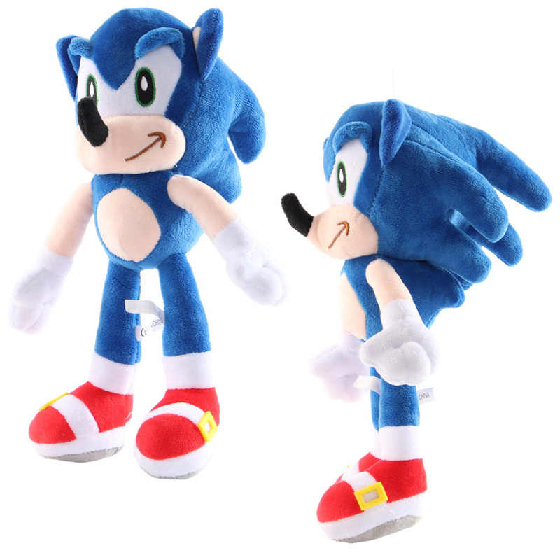 27cm Sonic Toys Super Sonic The Hedgehog Plush Toy Sonic Shadow Knuckles Tails Cute Soft Stuffed Dolls Keychain Keyring Aliexpress