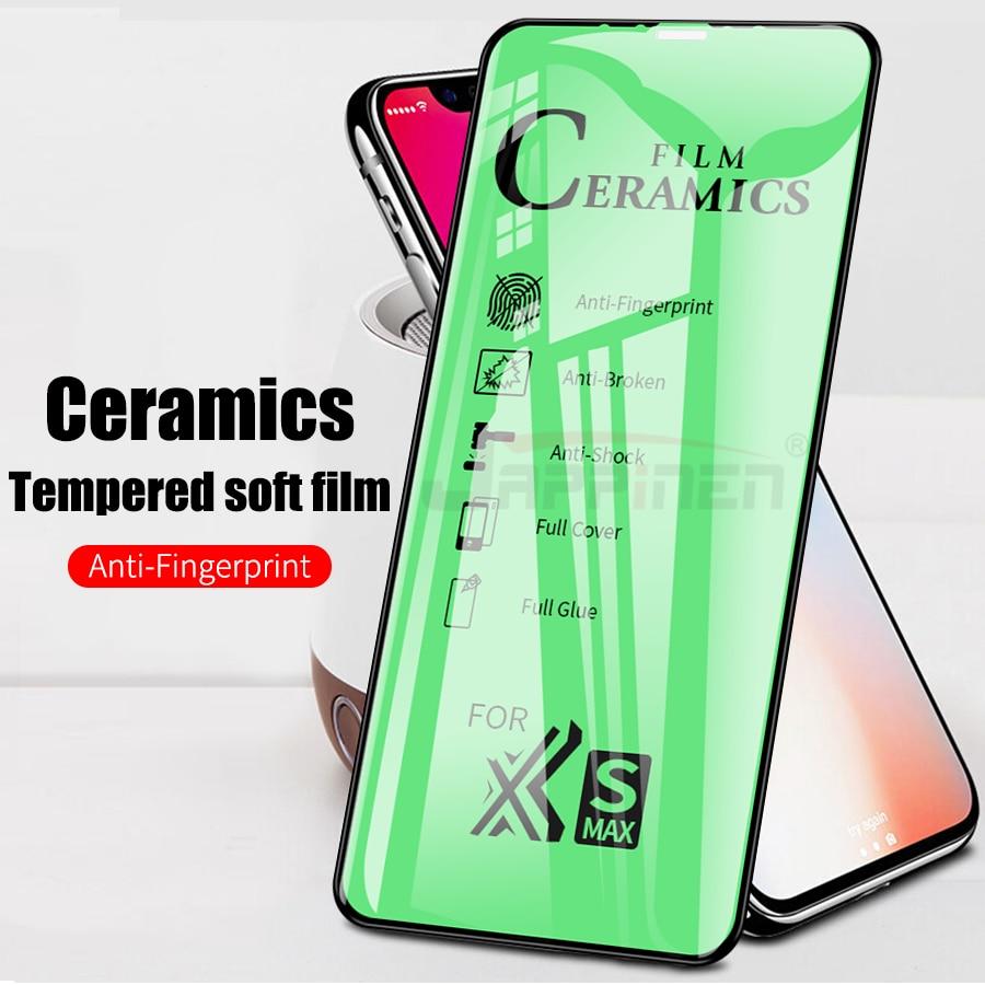 9D Ceramics Film For Huawei Mate 30 20 Pro Lite 20X Full Cover Screen Protector For Huawei P30 Pro Lite Soft  Fiber Glass