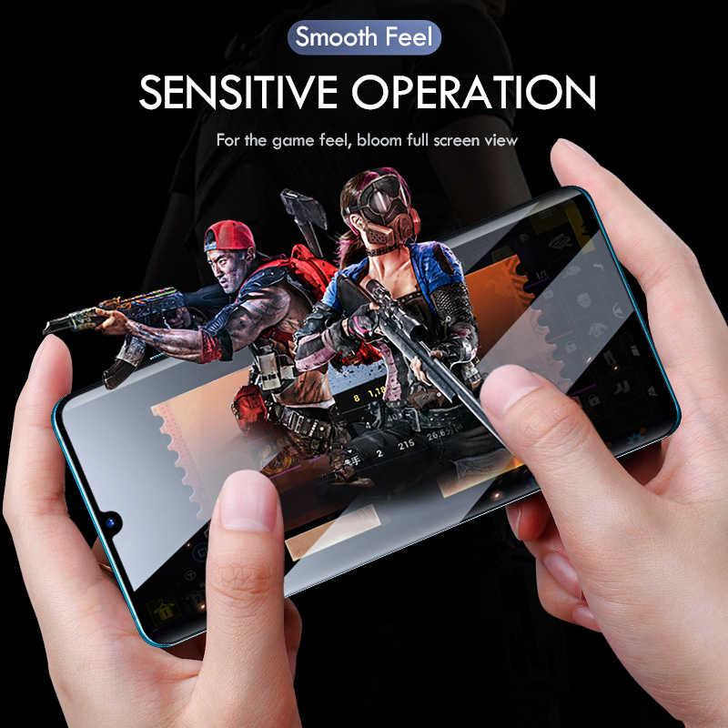 9D Anti Gores untuk Huawei P30 P20 Lite Pro Mate 20 30 Lite Lensa Kamera Pelindung Layar untuk Huawei P30 lite Kaca Pelindung