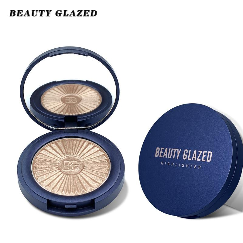 Beauty Glazed 8Color Highlight Face Contour Kit Highlighter Shimmer Facial Palette Makeup Face High Gloss Powder Cosmetics TSLM2 image