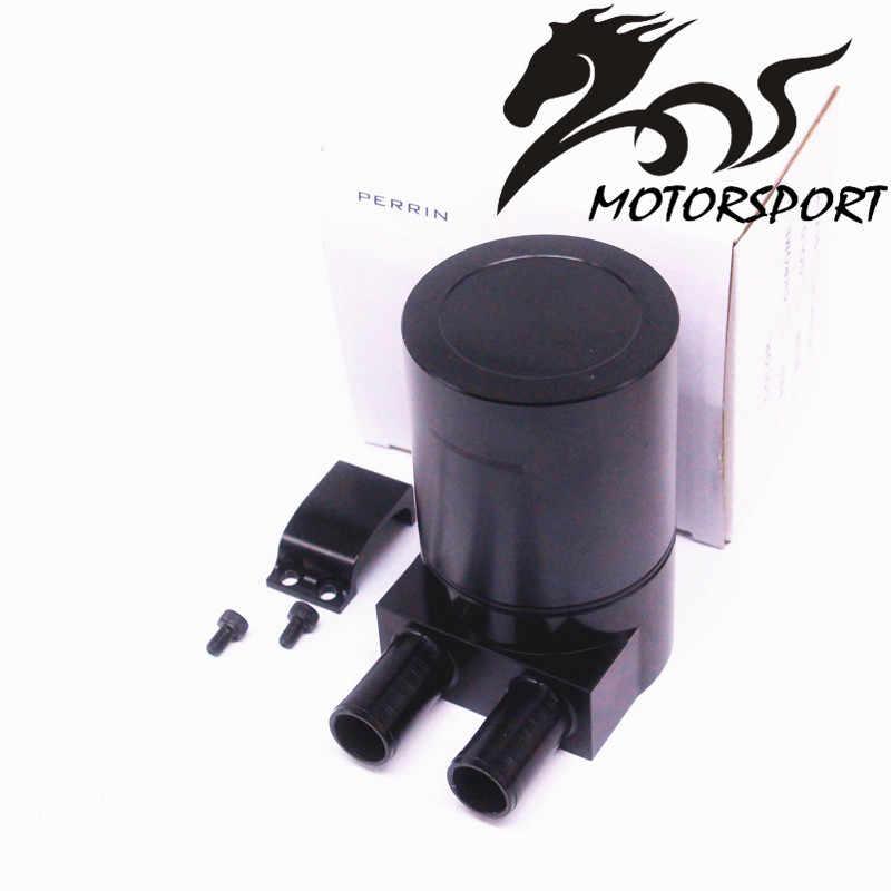 Wysokowydajny czarny pojemnik do ściągania oleju ze stopu aluminium zbiornik do BMW N54 335 czarny/srebrny